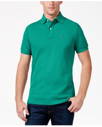 Tommy Hilfiger - Red Custom-fit Ivy Polo for Men - Lyst