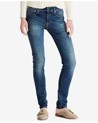 Polo Ralph Lauren - Blue Tompkins Superskinny Jeans - Lyst
