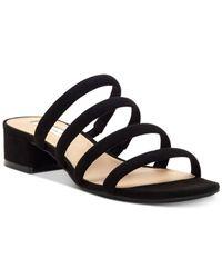INC International Concepts - Black I.n.c. Lamia Block-heel Sandals, Created For Macy's - Lyst