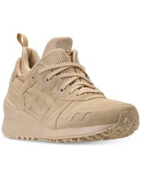 Asics Natural Men's Gel-lyte Mt Boots From Finish Line