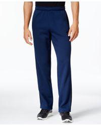 Adidas Originals   Blue Men's Essentials Cotton Fleece Pants for Men   Lyst