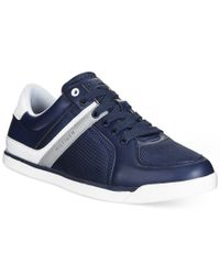 Tommy Hilfiger | Blue Winslow Low-top Sneakers for Men | Lyst