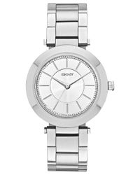 DKNY | Metallic Women's Stanhope Stainless Steel Bracelet Watch 36mm Ny2285 | Lyst