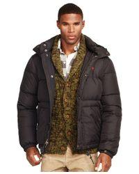 Polo Ralph Lauren | Black Elmwood Down-feathers Jacket for Men | Lyst