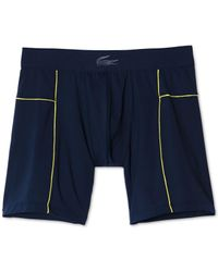 Lacoste - Blue Men's Motion Boxer Briefs for Men - Lyst