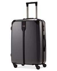 "Hartmann | Black Closeout! 60% Off Herringbone Luxe Hardside 26"" Medium Journey Spinner Suitcase 
