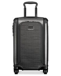 "Tumi | Black Tegra-lite Max 22"" International Expandable Carry-on Hardside Spinner Suitcase for Men 