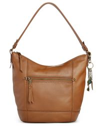 The Sak | Brown Sequoia Leather Hobo | Lyst