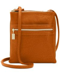 Style & Co. - Brown Organizer Crossbody - Lyst