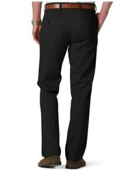 Dockers - Black D1 Slim-fit Flat-front Easy Khaki Pants for Men - Lyst