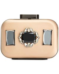 Badgley Mischka | Metallic Eloise Clutch | Lyst