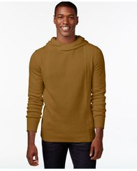 Sean John | Brown Crossover Hoodie for Men | Lyst