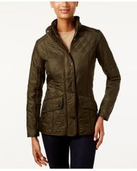 Barbour | Green Cavalry Polarquilt Quilted Utility Jacket | Lyst