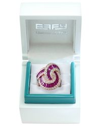 Effy Collection - Metallic Ruby (5-1/8 Ct. T.w.) And Diamond (1-3/8 Ct. T.w.) Ring In 14k Rose Gold - Lyst