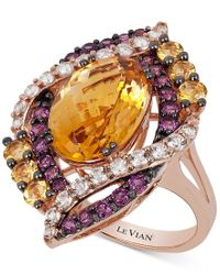 Le Vian - Pink Crazy Collection Multi-stone Ring (7-3/4 Ct. T.w.) In 14k Rose Gold, Only At Macy's - Lyst