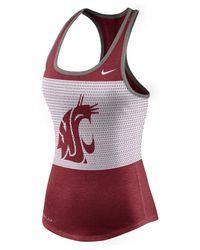 Nike | Purple Women's Washington State Cougars Dri-blend Mesh Tank Top | Lyst