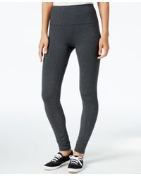 Style & Co. | Gray Tummy-control Leggings, Only At Macy's | Lyst