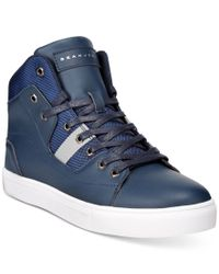Sean John | Blue Procida Hi-top Sneakers for Men | Lyst