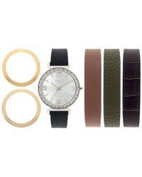 Style & Co. | Multicolor Women's Interchangeable Strap Watch Set 36mm Sy015neu | Lyst