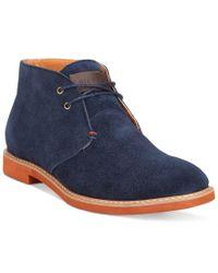 Tommy Hilfiger | Blue Sten Boots for Men | Lyst