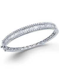 Macy's - Multicolor Diamond Bangle (5 Ct. T.w.) 14k White Gold - Lyst