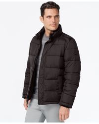 Calvin Klein | Gray Men's Jacket for Men | Lyst