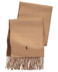 Polo Ralph Lauren | Brown Classic Reversible Scarf for Men | Lyst