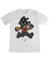 Fifth Sun - Red Men's Nintendo Super Mario Dark Cut Graphic-print T-shirt for Men - Lyst