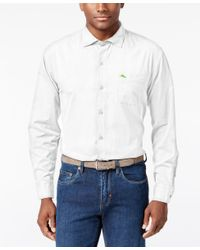 Tommy Bahama | White Men's Island Twill Shirt for Men | Lyst