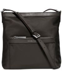 Michael Kors | Gray Michael Morgan Medium Messenger Bag for Men | Lyst