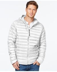 32 Degrees | White Packable Hooded Down Jacket for Men | Lyst