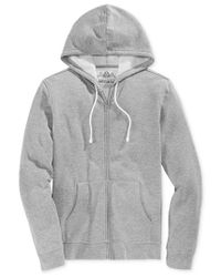 American Rag | Gray Men's Full-zip Fleece Hoodie, Only At Macy's for Men | Lyst