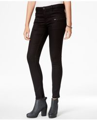 Sanctuary | Black Zipper-pocket Skinny Pants | Lyst