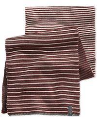 Calvin Klein   Purple Ombre Jacquard Muffler Scarf for Men   Lyst