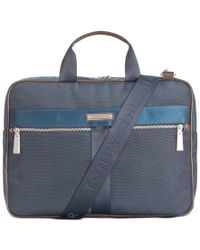 Tommy Hilfiger   Blue Darren Slim Briefcase for Men   Lyst