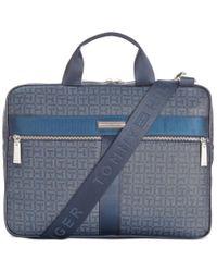 Tommy Hilfiger | Blue Darren Slim Briefcase for Men | Lyst