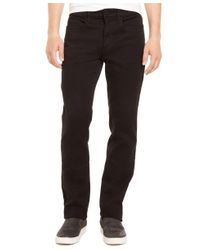 Kenneth Cole Reaction | Black Knit Denim Slim 970 Jeans for Men | Lyst