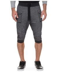 2xist | Black 2(x)ist Athleisure Men's Cropped Cargo Pants for Men | Lyst