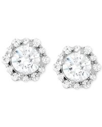 Macy's - Diamond Fashion Stud Earrings (1 Ct. T.w.) In 14k White Gold - Lyst