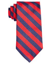 Brooks Brothers   Red Thick Stripe Tie for Men   Lyst