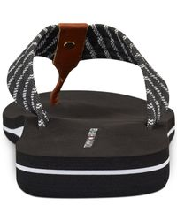 Tommy Hilfiger - Black Chell Flip Flops - Lyst