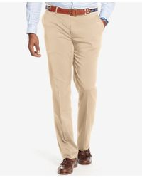 Polo Ralph Lauren - Natural Men's Big And Tall Classic-fit Performance Chino Pants for Men - Lyst