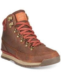The North Face | Brown Back-to-berkeley Redux Leather Boots for Men | Lyst
