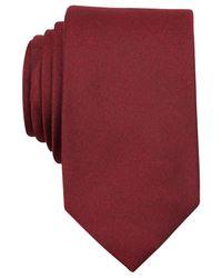 Perry Ellis   Red Dolby Solid Slim Tie for Men   Lyst