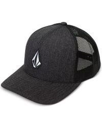 Volcom   Black Men's Full Stone Cheese Hat for Men   Lyst