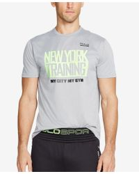 Polo Ralph Lauren - Natural Polo Sport Men's Performance Andover T-shirt for Men - Lyst