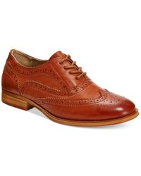 Wanted   Brown Babe Lace-Up Oxford Shoes   Lyst