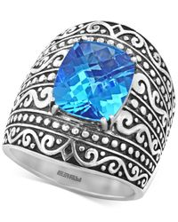 Effy Collection | Metallic Balissima By Effy Blue Topaz (6-2/3 Ct. T.w.) Ring In Sterling Silver | Lyst