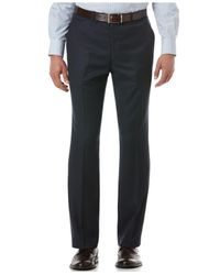 Perry Ellis | Blue Travel Luxe Slim-fit Dress Pants for Men | Lyst