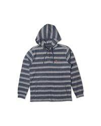 Rip Curl - Blue Men's Estero Hooded Sweatshirt for Men - Lyst